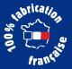 100% fabrication française